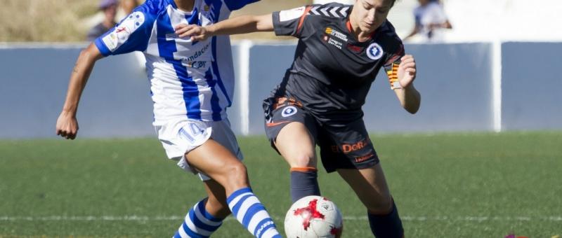 Sporting Huelva Zaragoza . Foto vía la liga