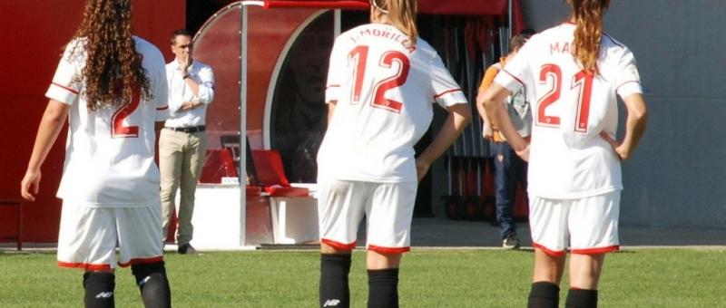 Foto Minerva Peña Caballero. Sevilla FC Fem vs Santa Teresa