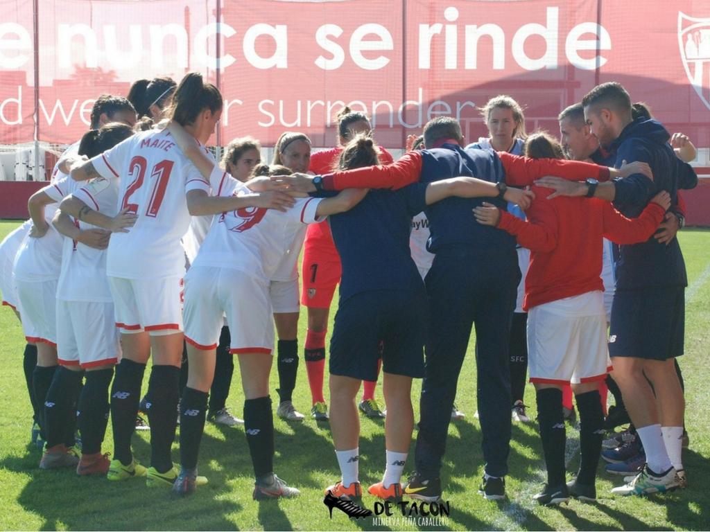 El Sevilla FC Fem se conjura antes del partido de la Jornada 9