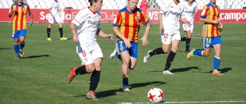 Sevilla FC Fem vs Valencia CF Jornada 10
