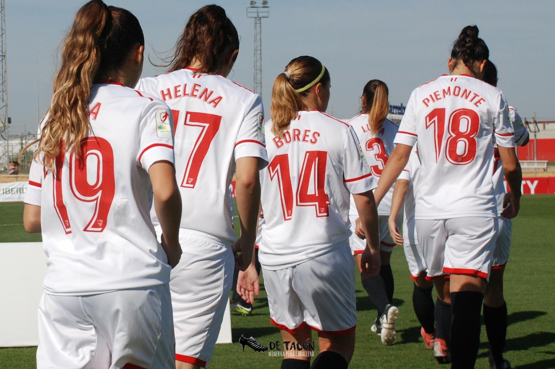 Olga, Helna, Bores, Piemonte en el partido con el Levante UD
