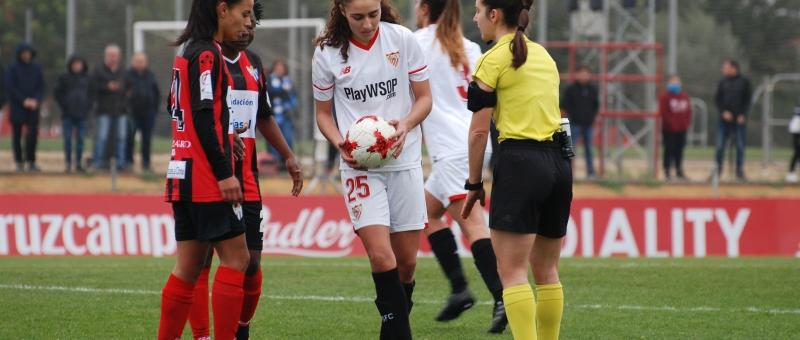 Derrota del Sevilla FC Fem ante el Sporting Huelva por 1-2
