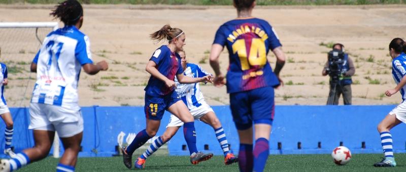 Sporting Huelva vs FC Barcelona . (1-1)