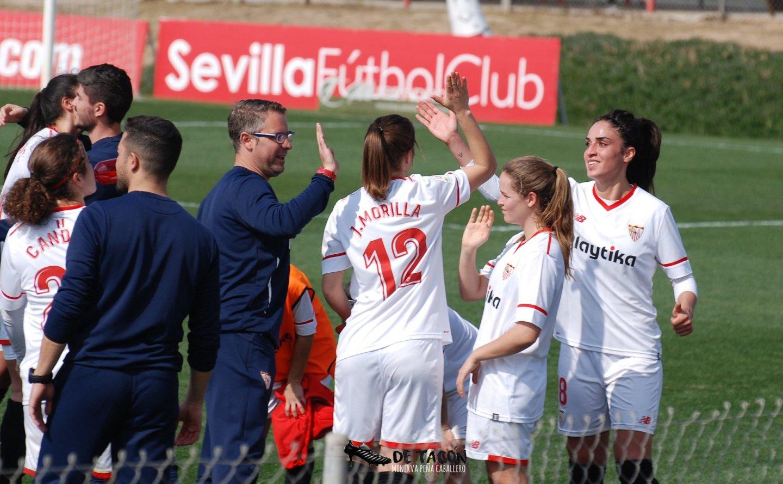 El Sevilla FC vence en casa ante el Zaragoza CFF