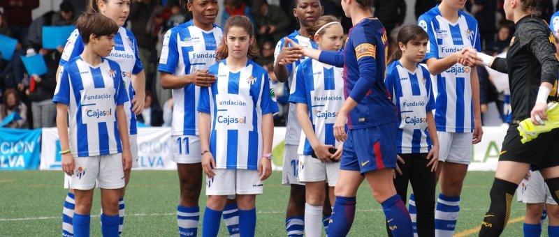 Sporting Huelva vs FC Barcelona (1-1)