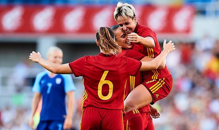 5-1 finaliza el España Finlandia en el Sardinero