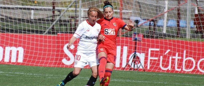 El Sevilla no puede con la real en Zubieta