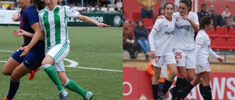 Las futbolistas Olga Carmona y Rosa Márquez distinguidas con el reconocimiento de las Junta de Andalucía