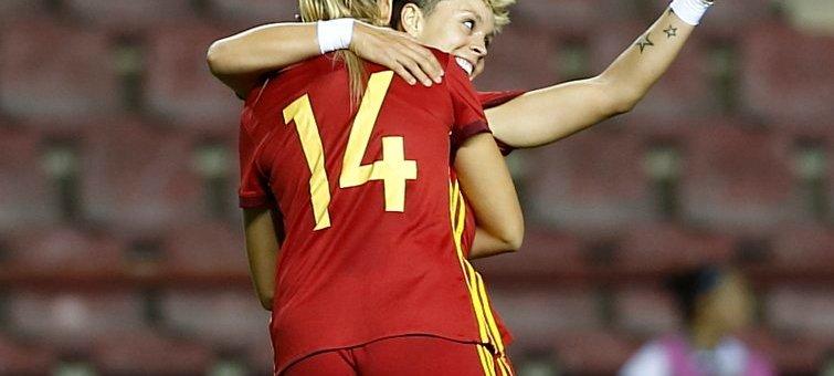 España Gana en la Gaunas a Serbia