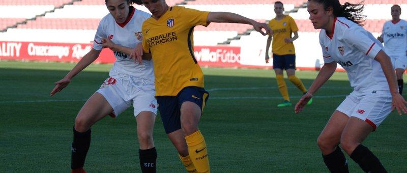 En la quinta jornada de la Liga Iberdrola el Sevilla se enfrenta al Atlético de Madrid