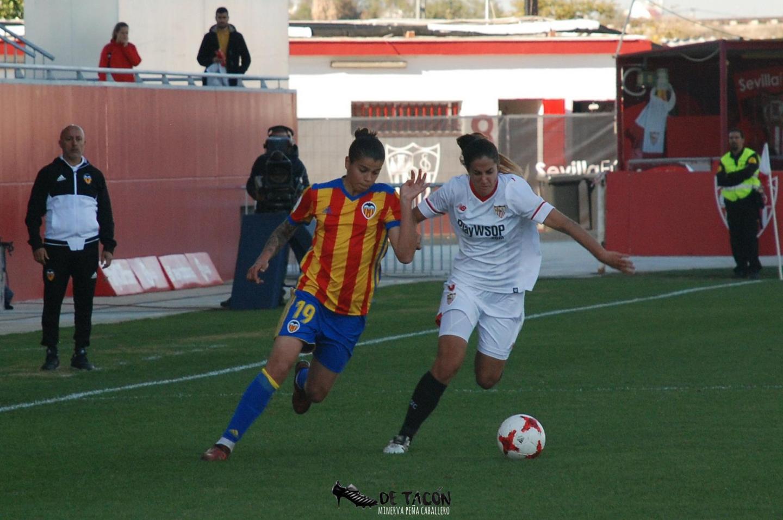 El Sevilla FC se enfrenta en encuentro aplazado al Valencia CFF