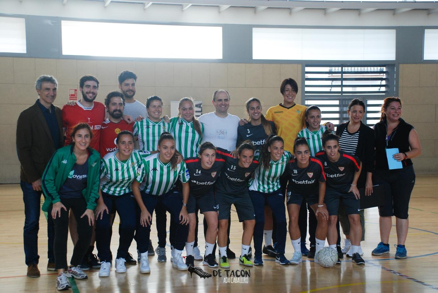 Sevilla FC y Real Betis en el evento Infinitive Football