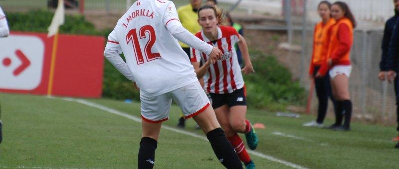 Partido de la pasada campaña entre el Sevilla y el Athletic