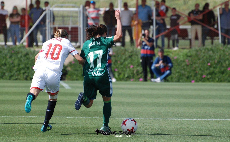 Derbi sevillano en la Ciudad Deportiva José Ramón Cisneros Palacios
