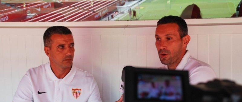 El Sevilla prescinde de Paco García y Sergio Jiménez