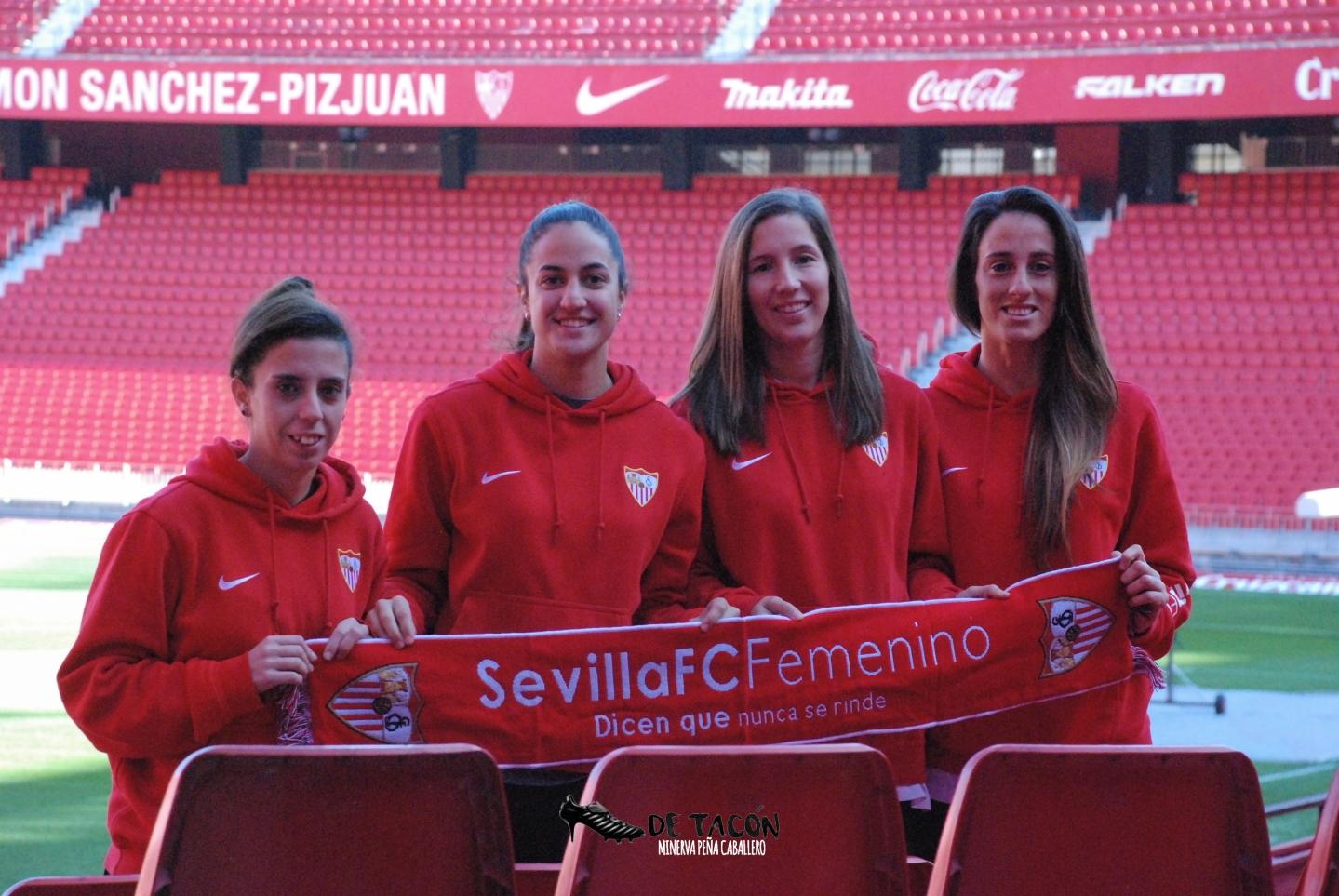 Nagore Calderón, Lucía Ramírez, Jeni Morilla y Maite Albarrán protagonizan el Media Day previo al derbi