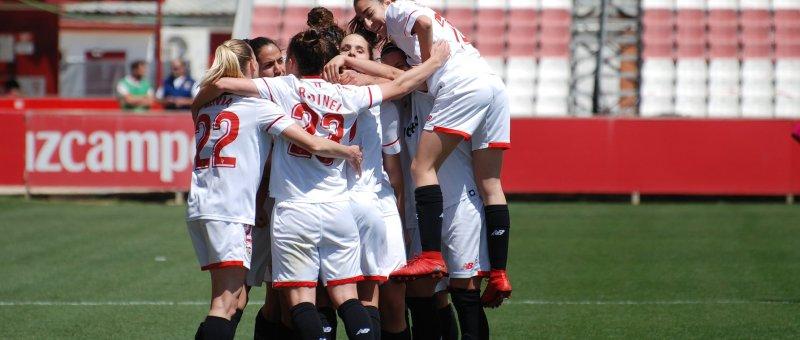El Sevilla venció al Madrid CFF en su primera visita al Jesús Navas