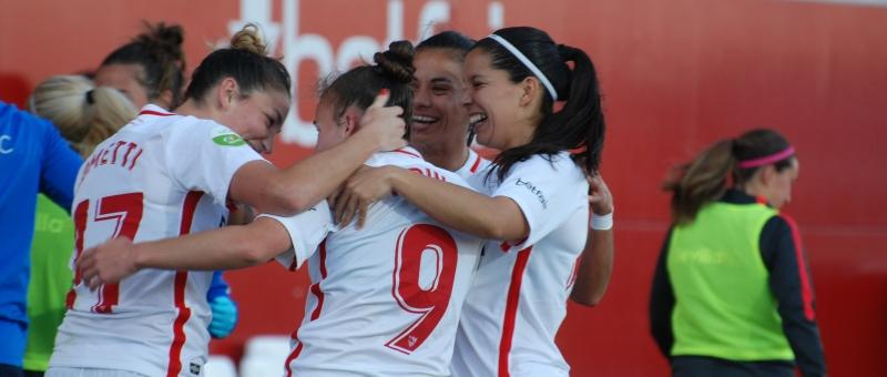 El Sevilla FC gana al Málaga CFF POR 5-0