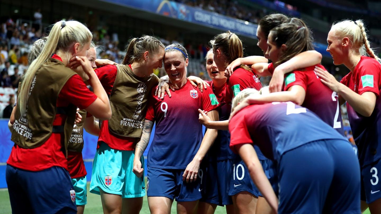Noruega celebra el pase a cuartos de final