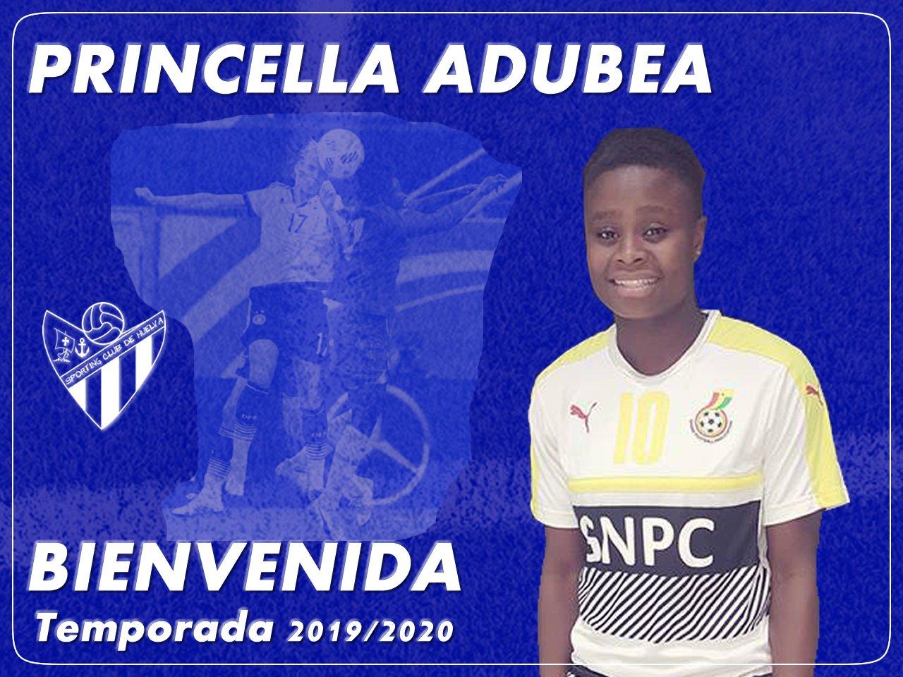 Princella Adubea, tercer nombre que llega al Sporting de Huelva