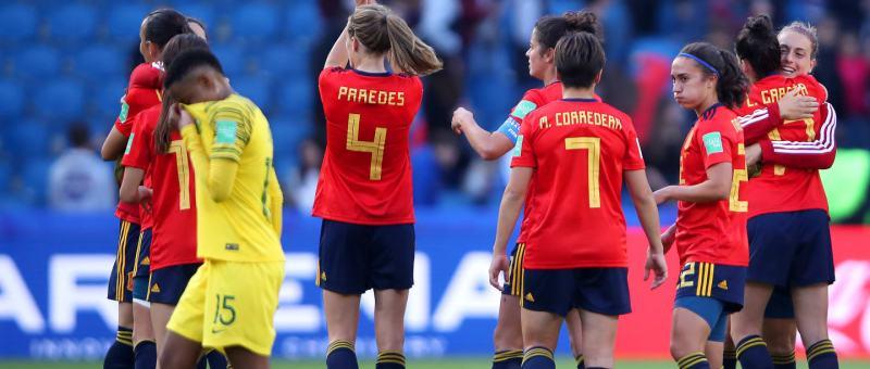 España vence a Sudáfrica en su primer partido en Francia 2019