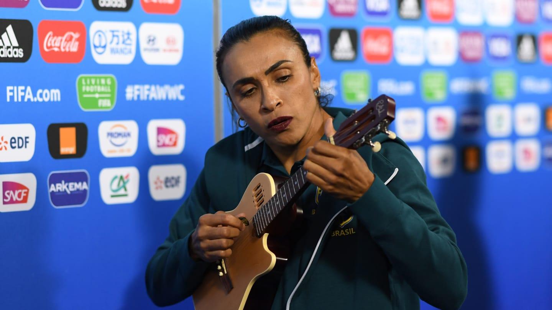 Marta Vieira da Silva en Zona Mixta