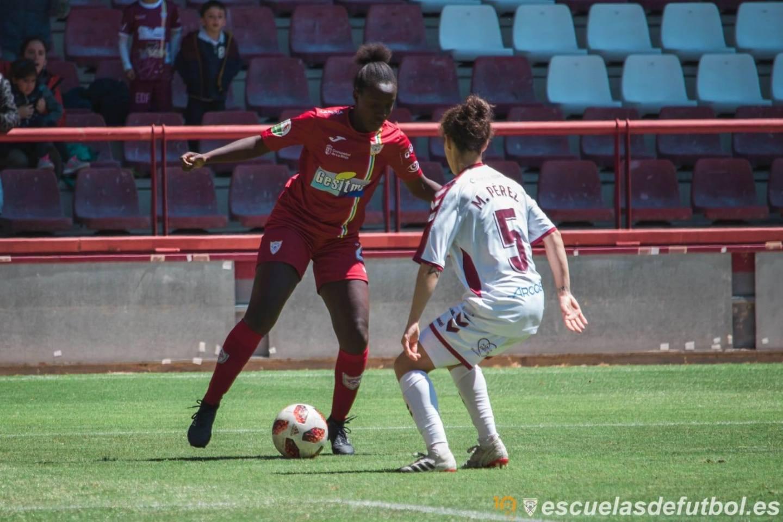 Fatoumata Kanteh nueva jugadora del Sporting de Huelva