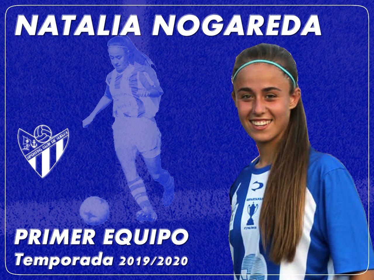 Natalia Nogareda ficha de primera para la cantearan
