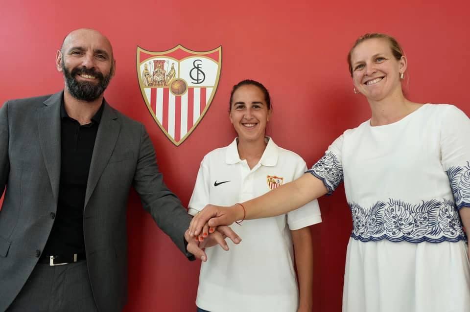 Virgy nueva Jugadora del Sevilla FC