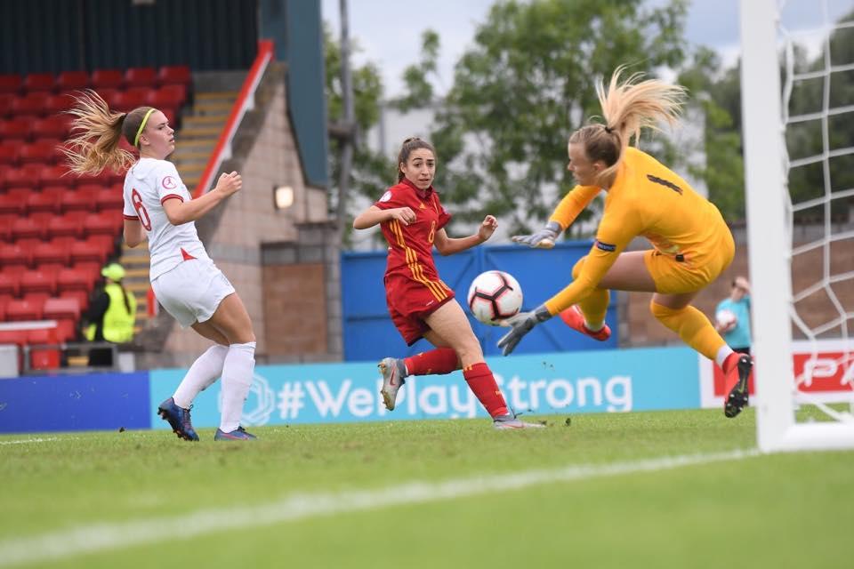 Olga marca el gol de la victoria