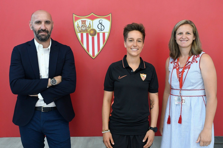 Claire Falknor nueva jugadora del Sevilla FC