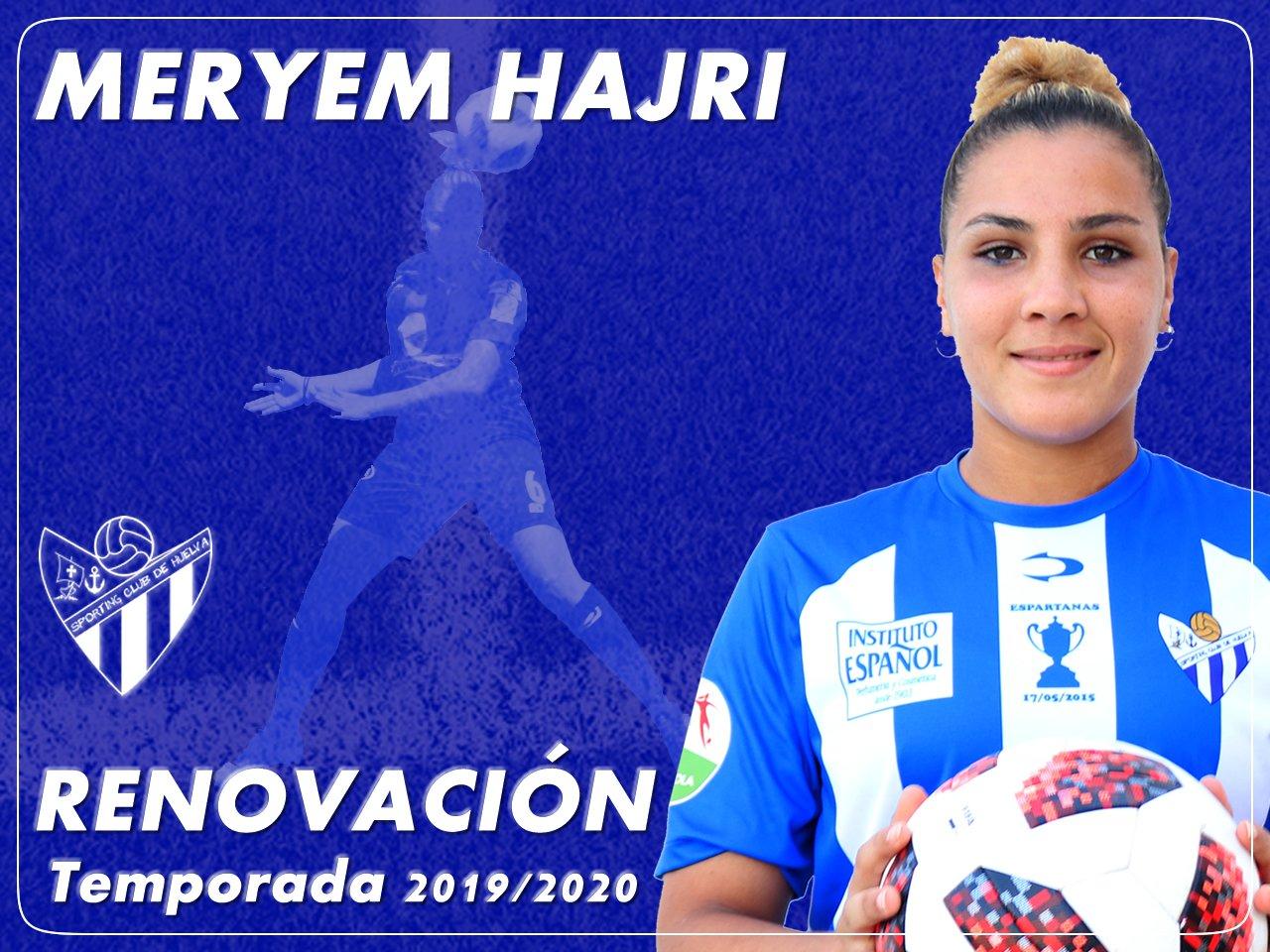 Maryem Hajir renueva con el Sporting