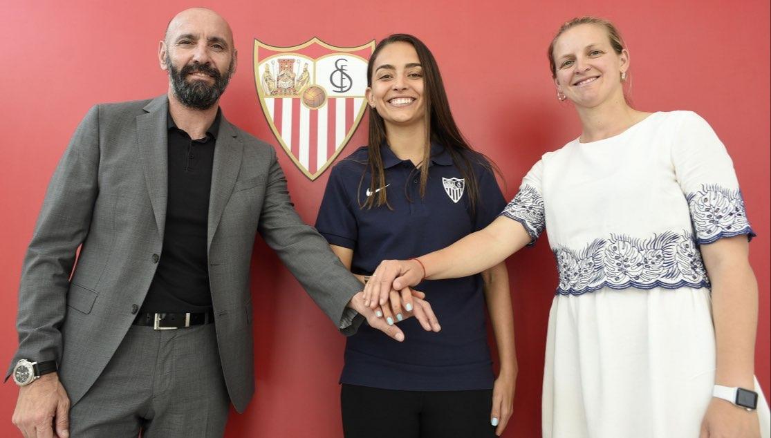 Isabella Echeverri nueva central del Sevilla FC
