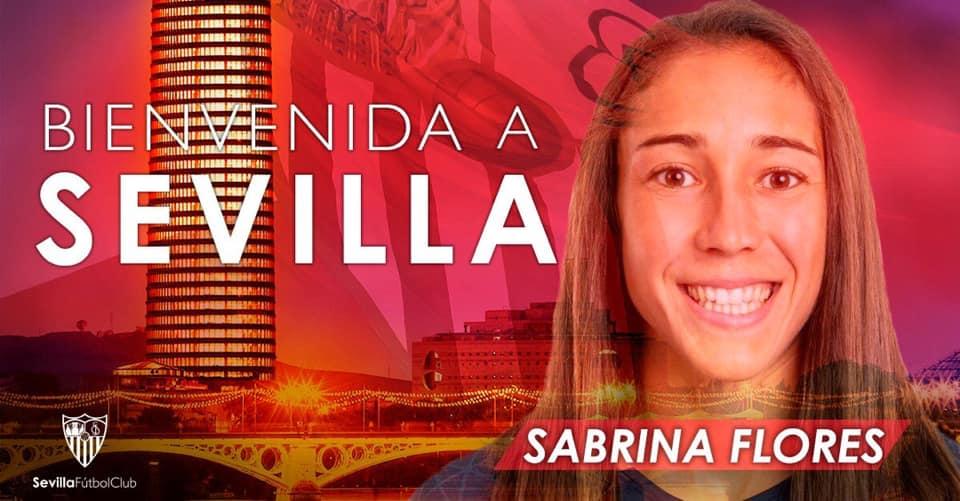 Sabrina Flotes aterriza en el Sevilla FC