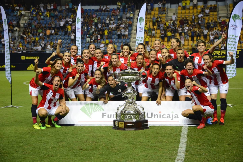EL Athletic Club se convert en el Primer equipo femenino en ganar el Carranza
