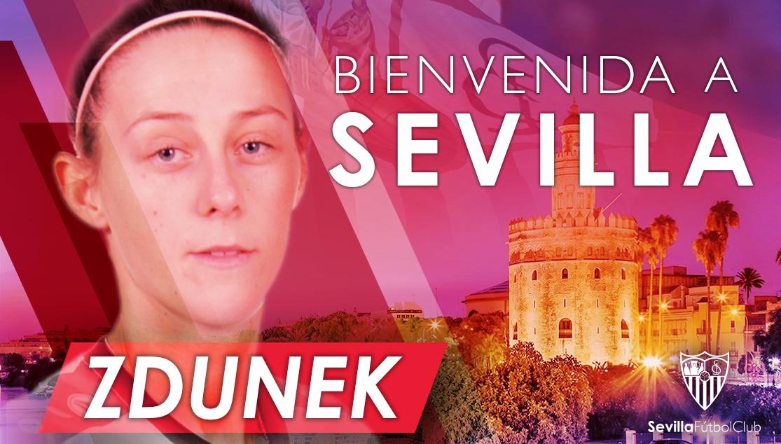 Zdunek nueva jugadora del Sevilla Fc