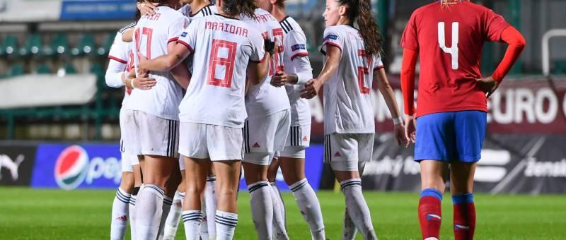 España gana a la República Checa