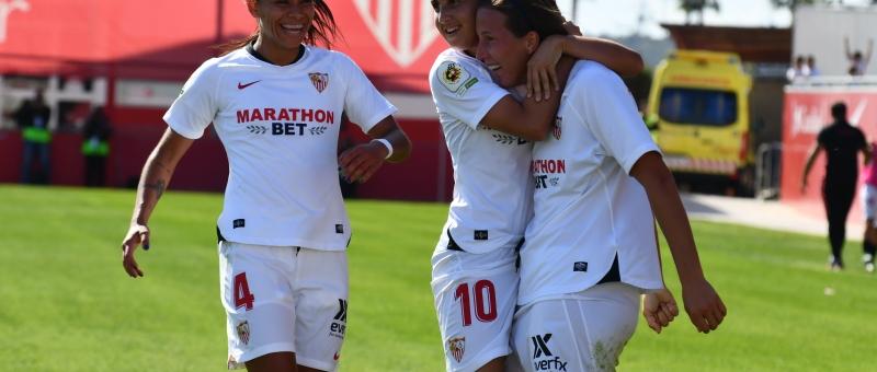 El Sevilla FC Gana al RCD Espanyol en la Jornada 6 de Primera iIberdrola