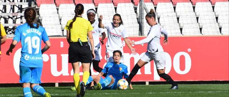 Sevilla FC contra el Valencia Jornada 10