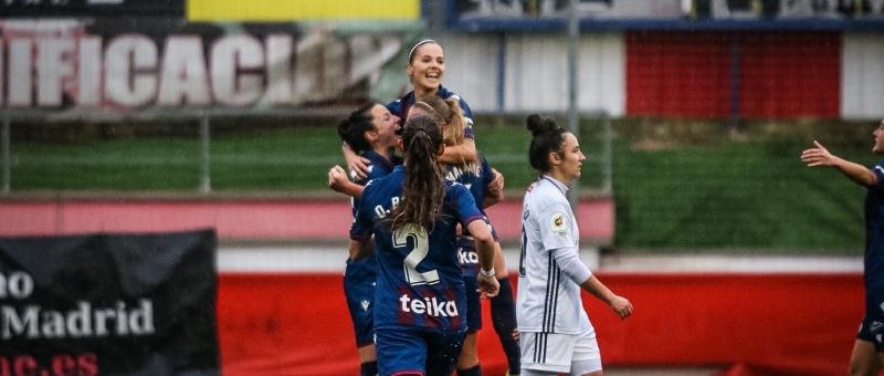 El Levanta UD vence a domicilio al Madrid CFF