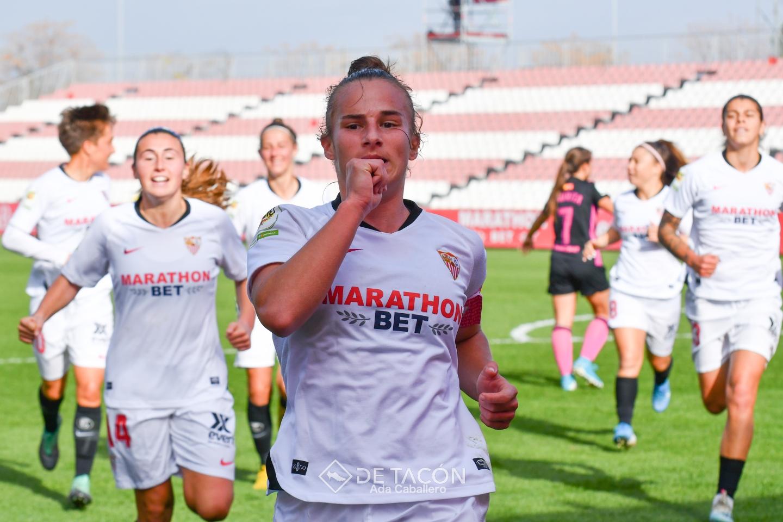 Raquel anota el gol de la victoria ante el Madrid CFF