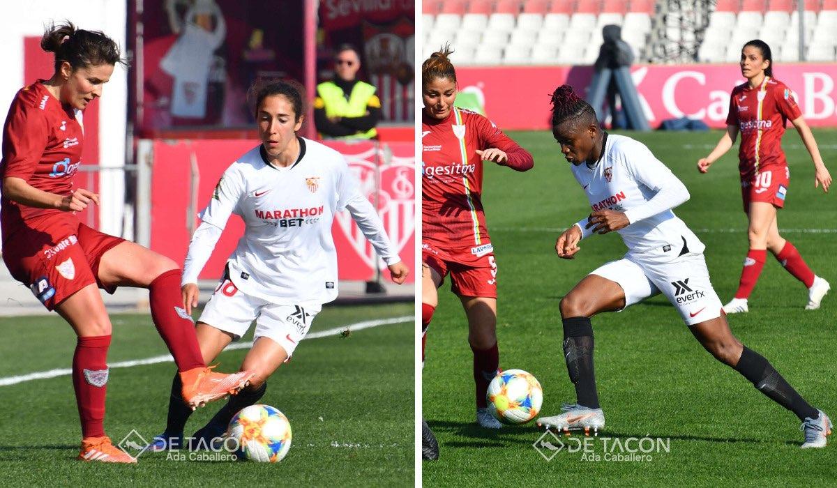 Sabrina Flores y Uchema Kanu dicen adiós al Sevilla