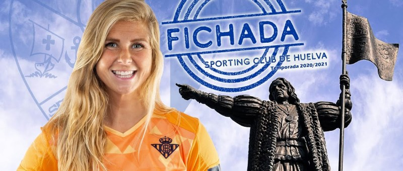Anna Buhigas nueva guardameta del Sporting Huelva
