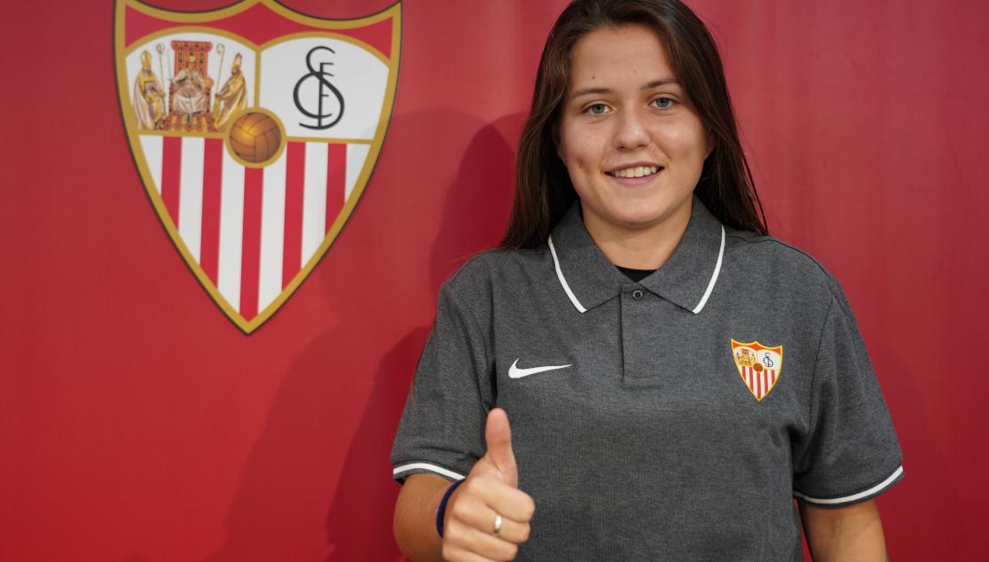 Claudia Pina, un año de cesión en el Sevilla FC