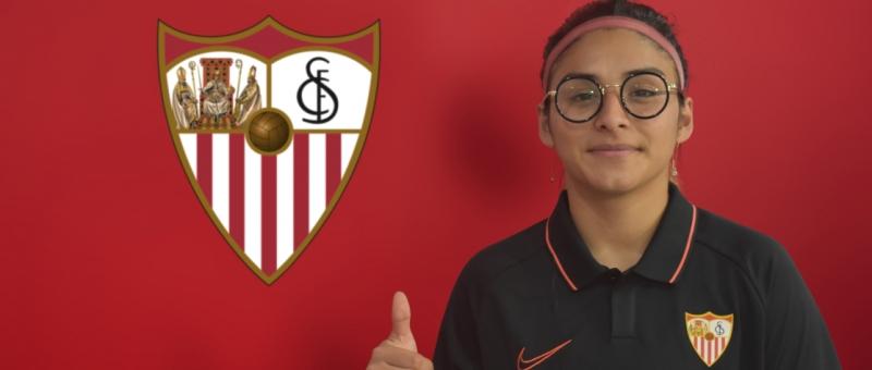 El Sevilla FC incorpora a su plantilla a Javiera Toro
