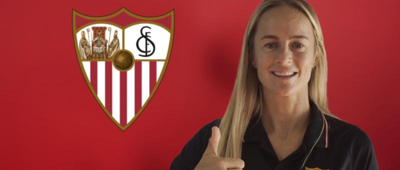 La australiana Aivi Luik refuerza el centro del campo del Sevilla FC