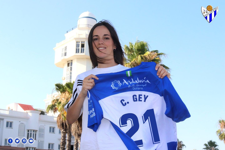 La Cristina Gey debutará en primera con el Sporting Huelva