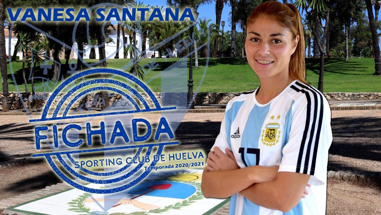 Vanesa Santana nueva incorporación del Sporting Huelva
